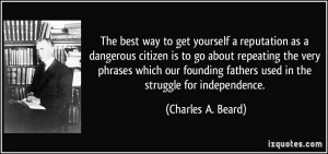 More Charles A. Beard Quotes