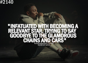 Kendrick Lamar Quotes Money Trees Kendrick-lamar-quotes-about-