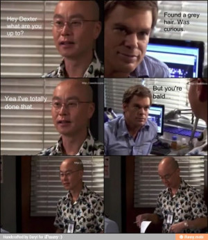 Funny dexter quote / iFunny :)