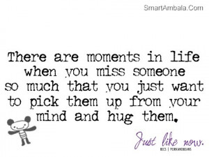 There Are Moments