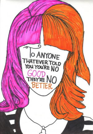 Hayley Williams Quote by NicosGirl