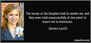 More Jessica Lynch Quotes