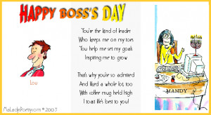 Images happy bosss day poem graphic in Bosses day poems