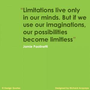 Design Quotes - Imagination by riacharda