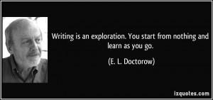 More E. L. Doctorow Quotes