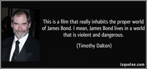 James Bond Quotes