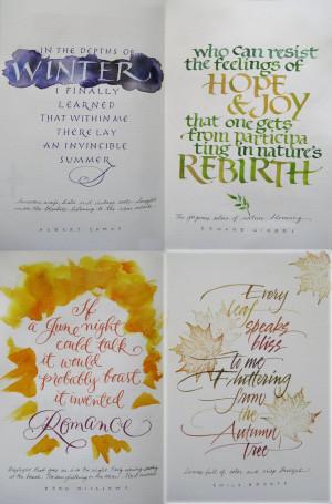 Seasons Quotes