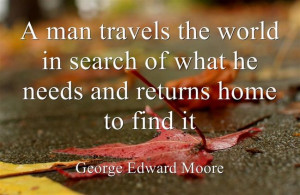 Travel Quote by George Edward Moore