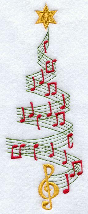 ... christmas tree christmas tree with music dots music christmas tree