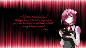 Lucy Wallpaper (Elfen Lied) by ajss123