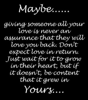 Just wait for it to grow in their heart picture quotes and sayings