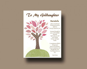 Quotes To Goddaughter From Godmother