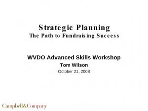 Strategic Planning Success