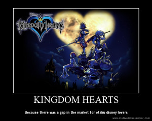 Kingdom Hearts Motivational Poster by JumperxMelon
