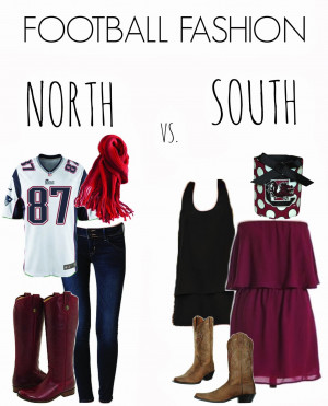 Southern Girls Vs Northern Girls Quotes Gameday: northern vs. southern