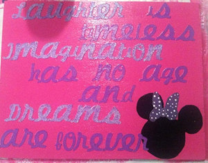 Disney Minnie Mouse Quote by LarrynPaige on Etsy, $15.00