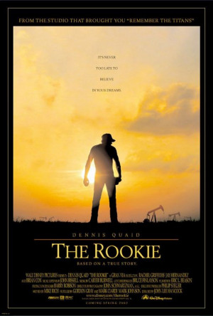 The Rookie (2002 film) poster