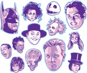 Tim Burton Film Characters picture