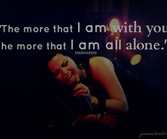 Amy Lee Quotes Amy lee singing images