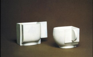 Two cups created by Kazimir Malevich, undated.