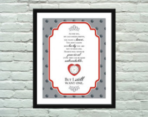 Heart Is Not Judged Wizard Of Oz Quote Tin Man Dictionary Print On