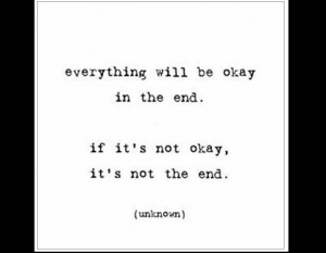 Quotes In the end