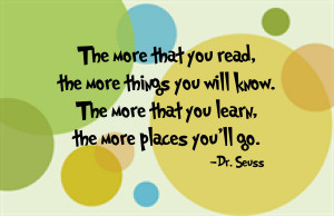 Dr. Seuss Quotes The More You Read Dr. seuss quotes the more you
