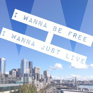 The city never looked so bright #macklemore #lyrics #seattle