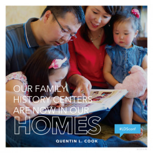 we do family history and temple work? (love, service, to seal families ...