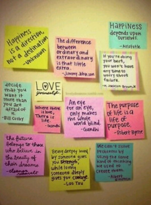 Cute Colorful Quotes Quotes on colorful sticky