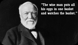 Andrew Carnegie Quotes Carnegie himself is known for