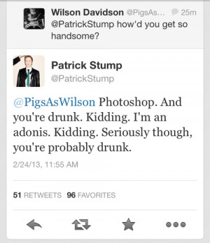 patrick stump twitter