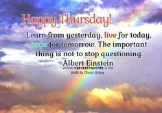 Have A Great Thursday Quotes