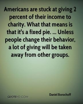 Americans are stuck at giving 2 percent of their income to charity ...