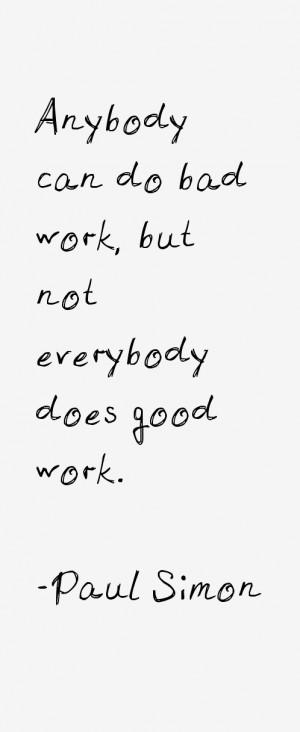 Paul Simon Quotes & Sayings