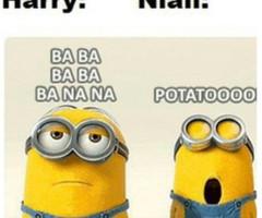 banana, crazy, cute, friends, funny, minion, minions, potato, yellow