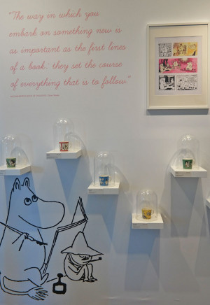 Tove Jansson's 100th Anniversary and Moomin Exhibition at the Arabia ...