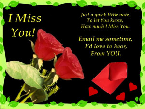 Miss You Quotes HD Wallpaper 22