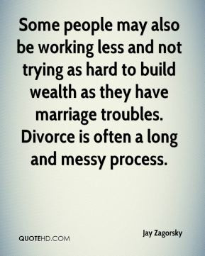 less and not trying as hard to build wealth as they have marriage ...