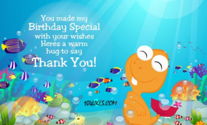 Birthday Thank You Quotes For Facebook Thank you