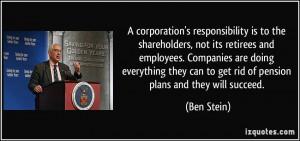 More Ben Stein Quotes