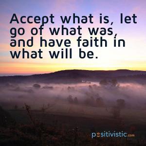 quote on acceptance, faith and letting go: letgo accept faith hope ...