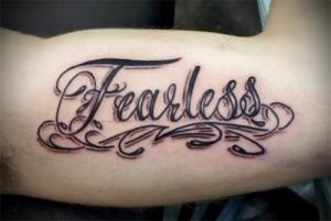 Fearless Script Tattoo 500x336jpg picture