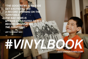 vinylbook , Chairman , Jeff Mao , vinyl quotes