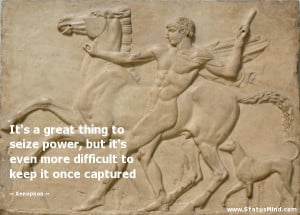 Xenophon Quotes