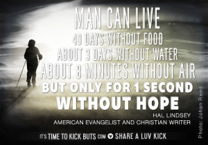 Man can live 40 days without food, about 3 days without water, about 8 ...