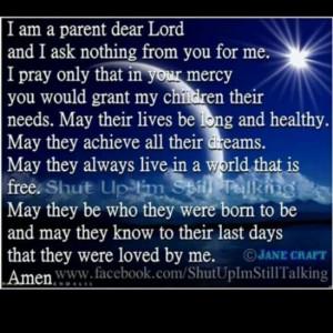 Being a parent!!!!!