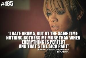 Rihanna Quotes HD Wallpaper 5