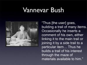 Vannevar Bush photo