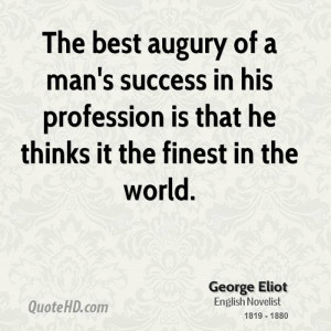 George Eliot Success Quotes